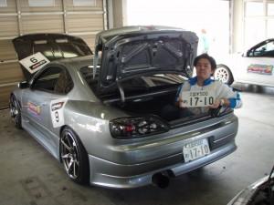 HKSハイパーチャレンジ走行会 2008.10.12-24